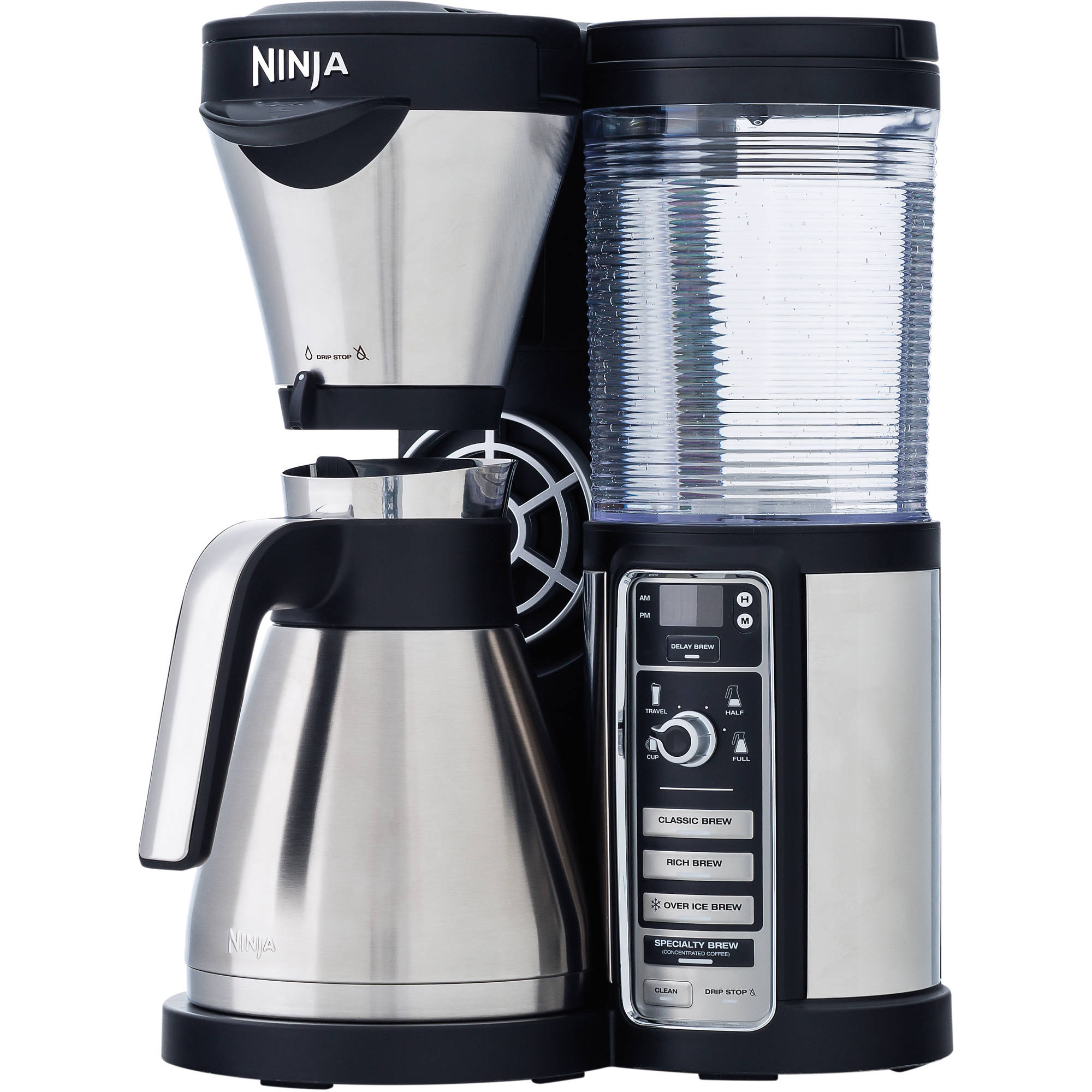 Ninja Coffee Bar with Auto IQ and Thermal Carafe - 4 Brew Types (CF085W)