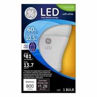 GE LED Outdoor Regular Base Post Light Bulb
