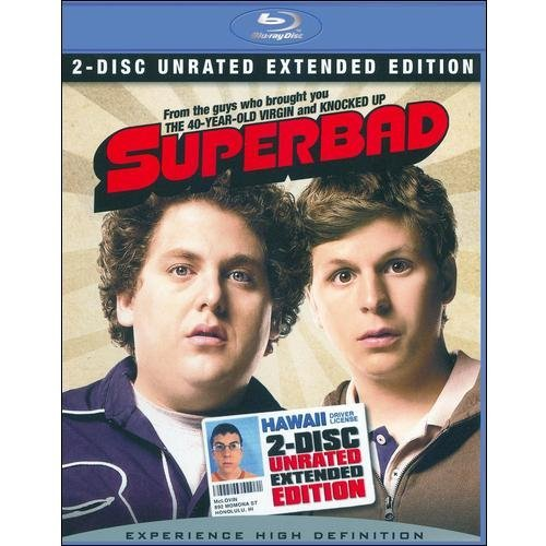 Superbad (Blu-ray) (Unrated Extended Edition) (With INSTAWATCH) (Widescreen)
