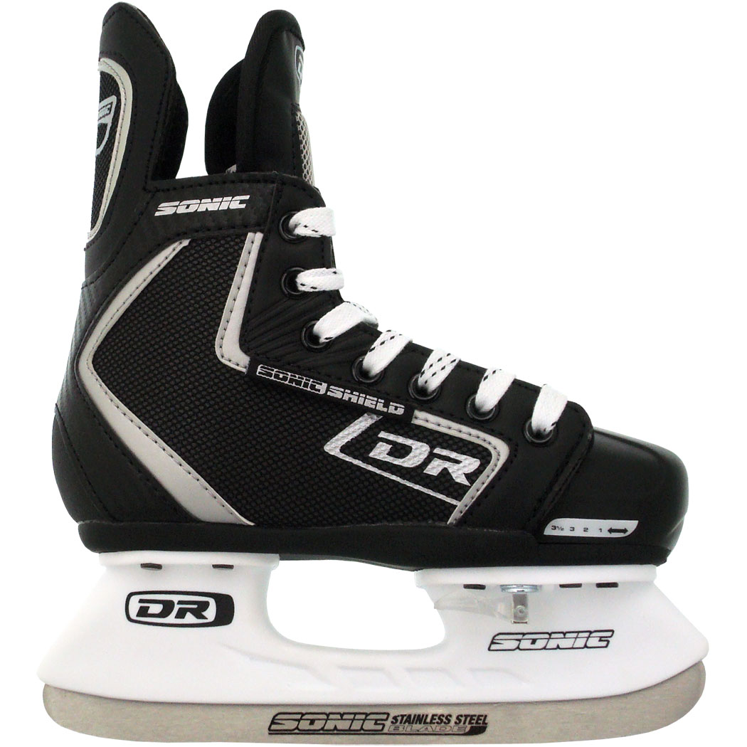 DR 114 Adjustable Youth   Junior Ice Hockey Skates (Kids Size 1 4) by