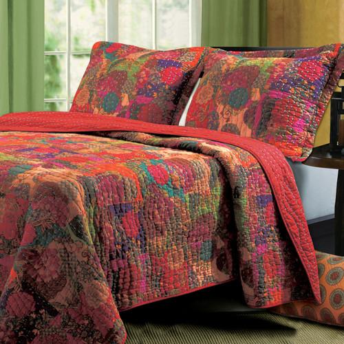 Greenland Home Fashions Jewel Mini Quilt Set