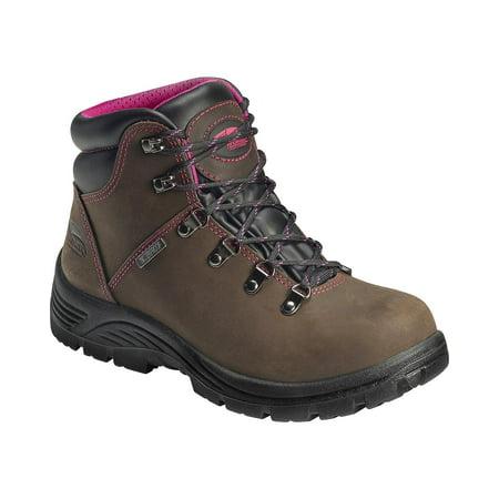 Women Steel Toe Safety Shoes - Avenger Women's A7125 Steel Safety Toe Work Boot