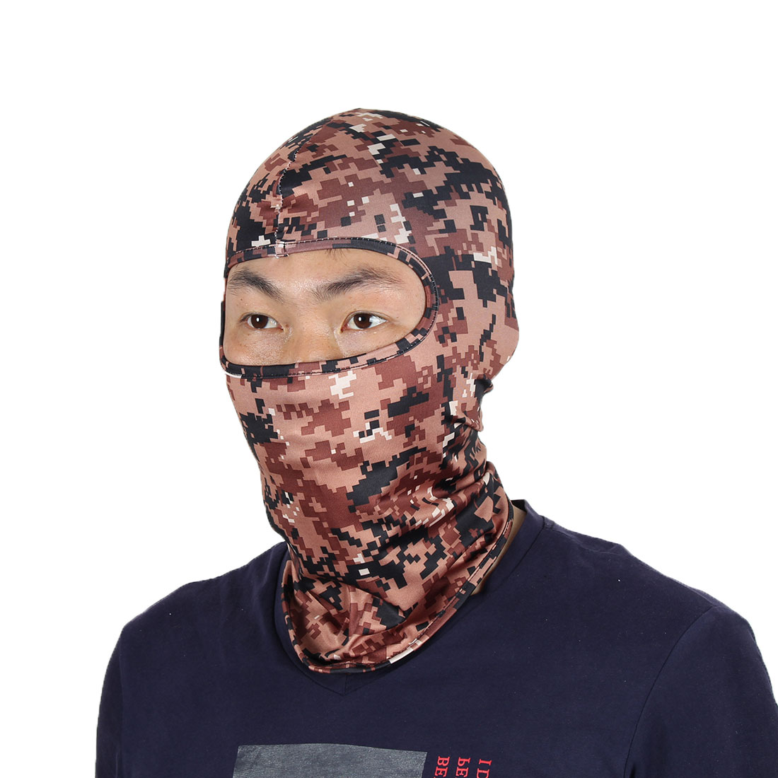 Face Mask Outdoor Sports Cycling Gel Padded Neck Protector Hood Helmet Balaclava by Unique-Bargains