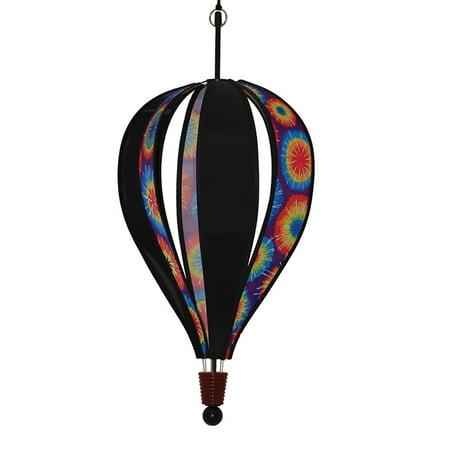 Tye Dye Balloons (In the Breeze Tie Dye and Black 6-Panel Hot Air)