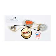 920D Custom Shop Fender Precision P-Bass Wiring Harness w/ Knurled Knobs, Chrome