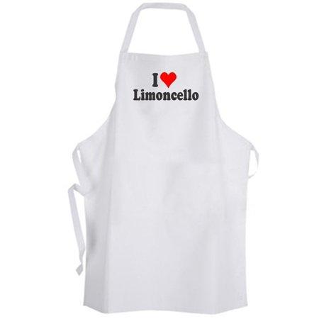 Aprons365 - I Love Limoncello – Apron – Italian Liquor Cocktail - Bartender On Love Boat