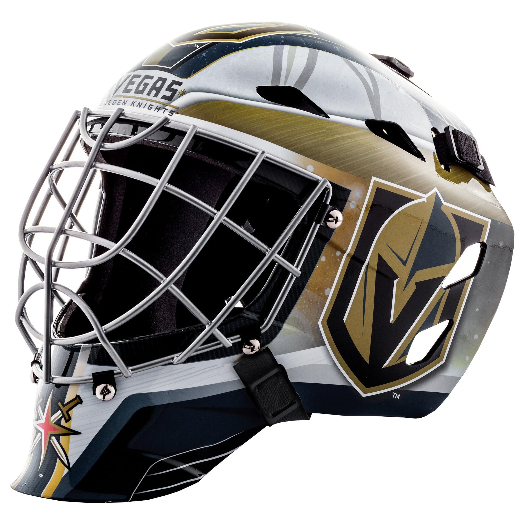 Franklin Sports NHL Vegas Golden Knights GFM 1500 Goalie Face Mask by Franklin Sports