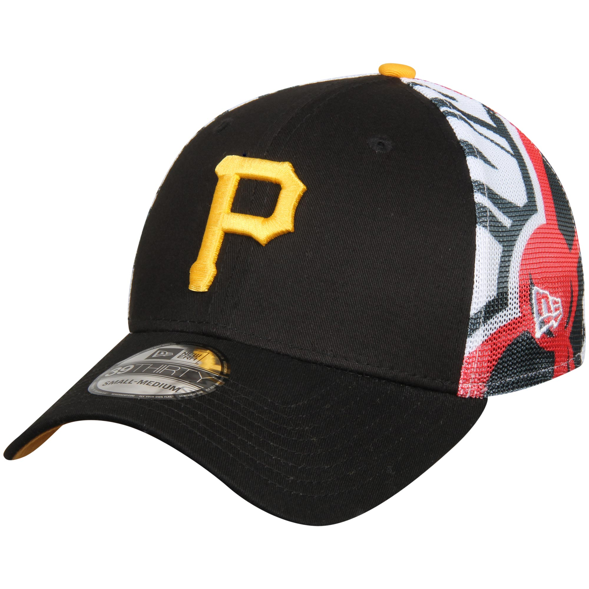 8b5e13b104175 ... sale pittsburgh pirates new era logo wrapped 39thirty flex hat black  walmart 3fbb2 431b6
