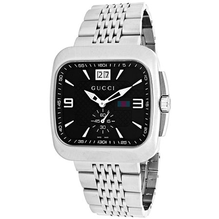 c8b63bbae8a Gucci - Men s G-Coupe Watch Quartz Sapphire Crystal YA131305 - Walmart.com