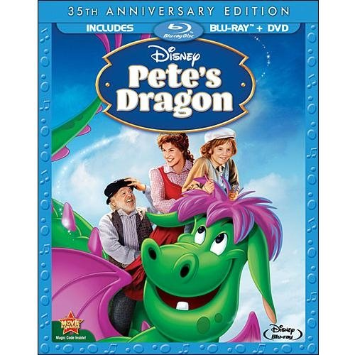 Pete's Dragon: 35th Anniversary Edition (Blu-ray + DVD))