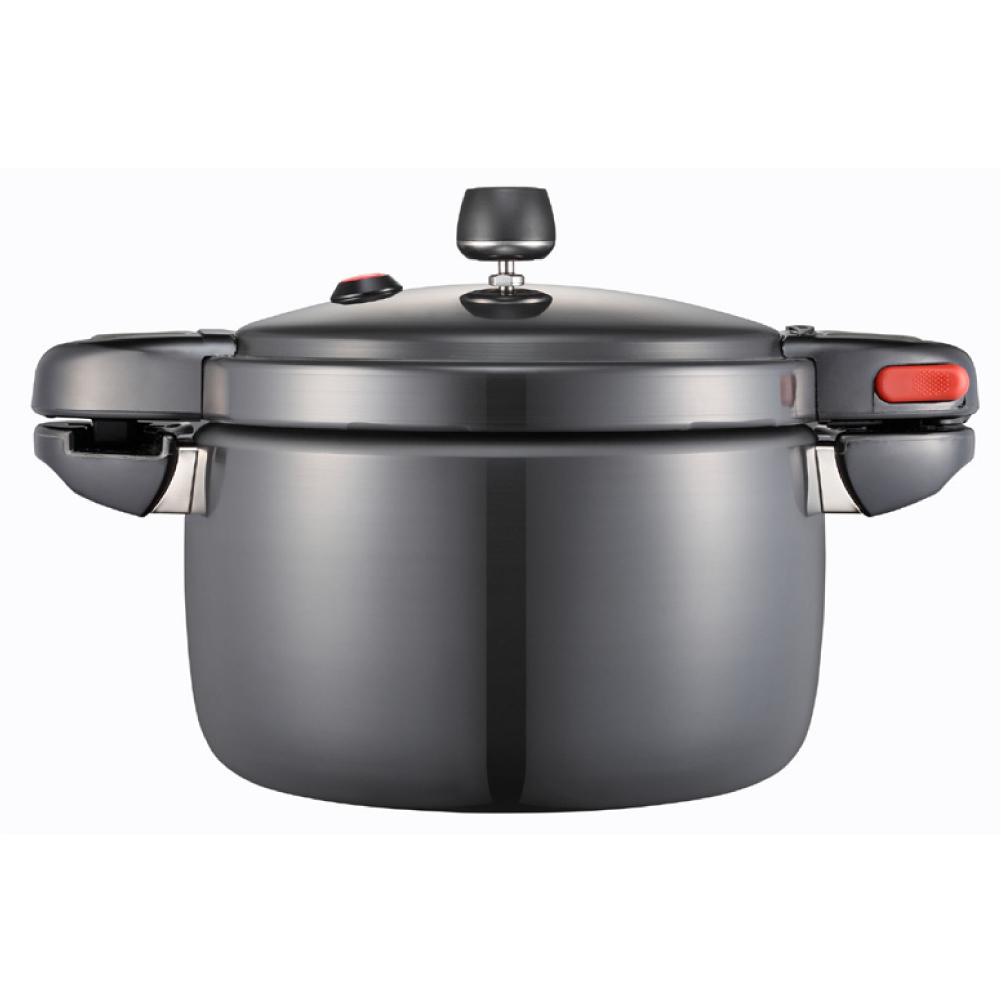 PN Poong Nyun New Black Pearl Pressure Cooker 4.5 L / 4.8qt / 8 Cups PSPC-22