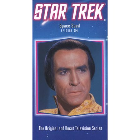 Star Trek - The Original Series, Episode 24: Space Seed [VHS] - Space Vbs