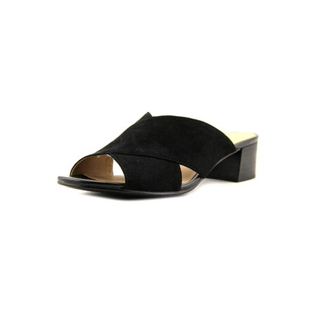 cc791a68d271 Naturalizer - Naturalizer Womens Arielle Fabric Open Toe Casual Mule Sandals  - Walmart.com