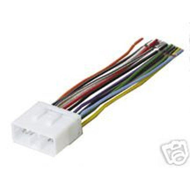 stereo wire harness subaru impreza 02 03 04 05 (car radio wiring  installation parts) by carxtc ship from us - walmart.com - walmart.com  walmart