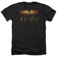Dawn Of The Dead - Walking Dead - Heather Short Sleeve Shirt - X-Large