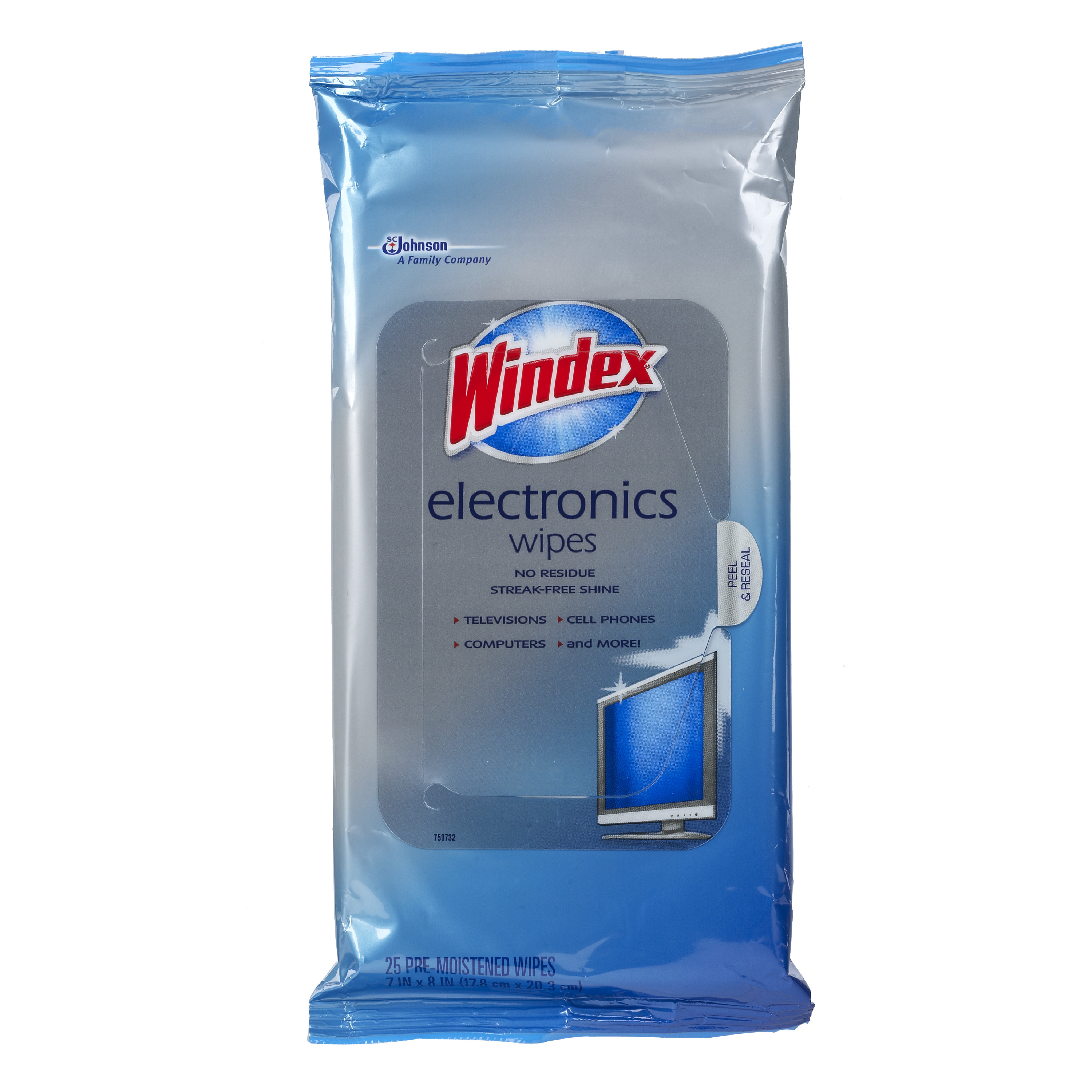 Windex Electronics Wipes 25 count