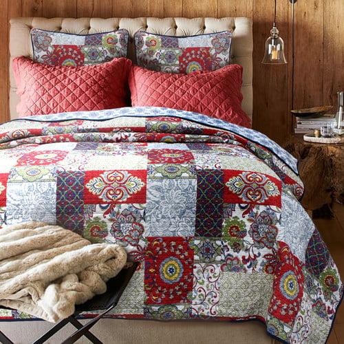 Cozy Line Home Fashion Vintage Cotton Quilt Set