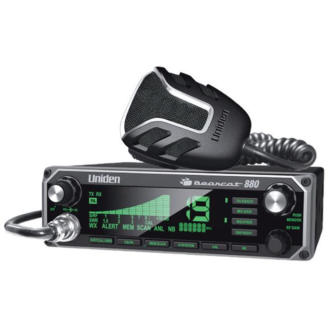 Uniden BC880 BC880 40 Channel CB Radio with 7 Color Optio...