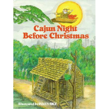 Cajun Night Before Christmas(r) (Hardcover) - Halloween Falls On The Night Before