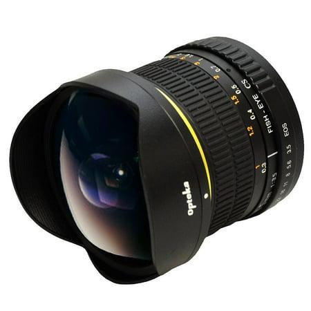 Opteka 6 5Mm F 3 5 Manual Focus Aspherical Fisheye Lens For Nikon D610  D500  D7500  D7200  D7100  D5600  D5500  D5300  D3400  D3300 Digital Slr Cameras