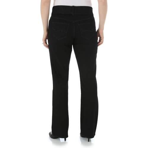 Riders by Lee Indigo Women/'s Pull on Waist Smoother Bootcut,