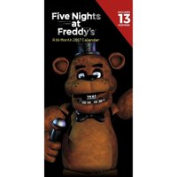 "Five Nights At Freddy's 12"" x 6"" Vertical 2017 Wall Calendar"