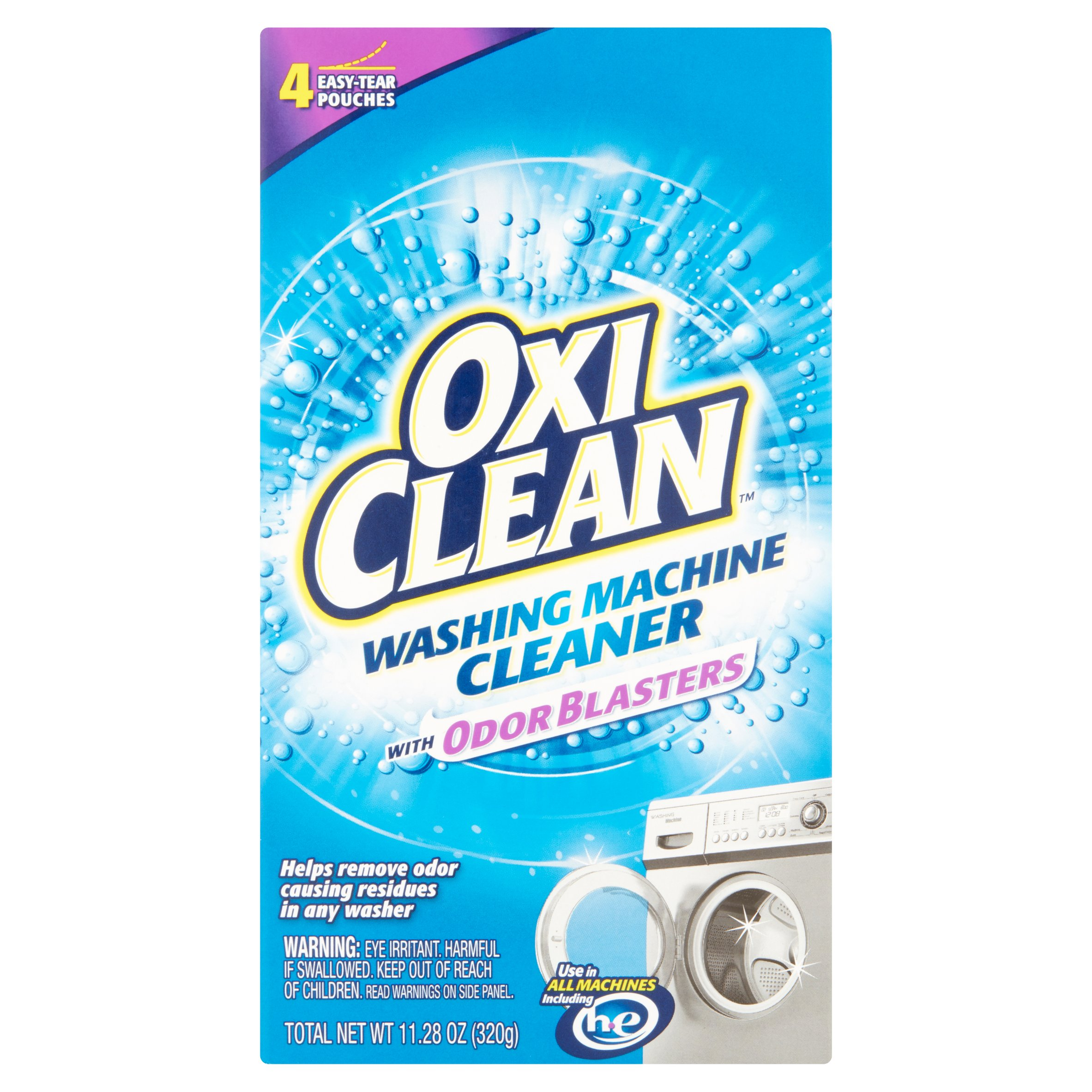 OxiClean Washing Machine Cleaner, 4 Count - Walmart.com