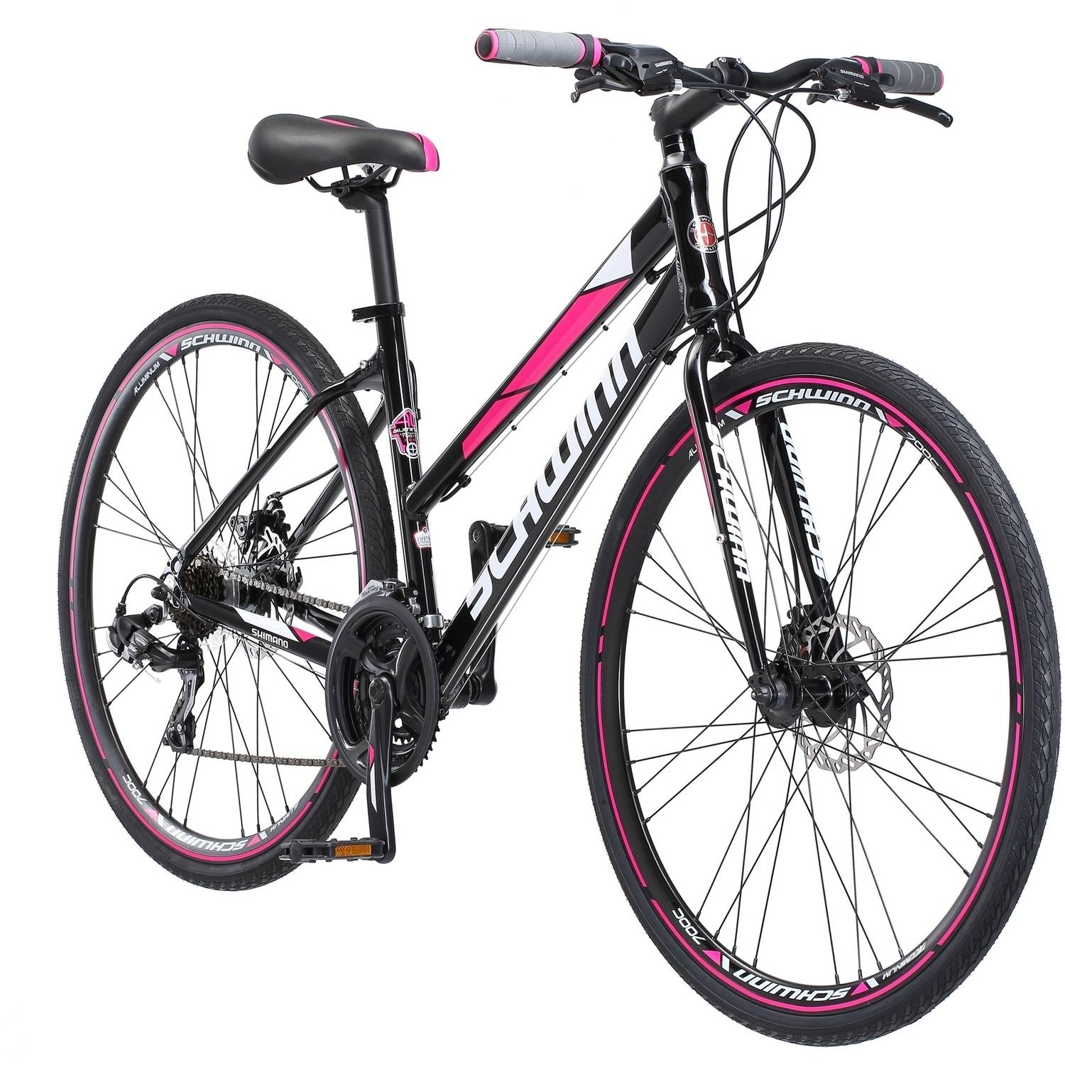 700c Schwinn Kempo Women's Bike, Black by Pacific Cycle