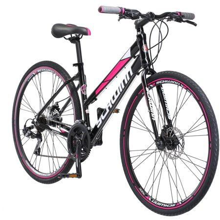 700c Schwinn Kempo Women's Hybrid Bike, Black