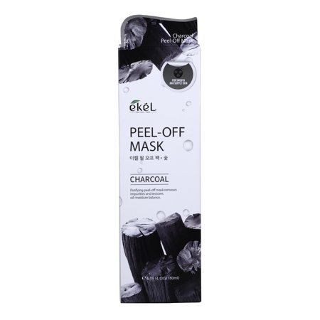 Ekel Peel Off Pack Charcoal 6.09 oz - Peel Off Pack