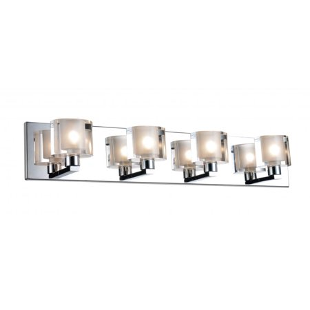 4 Light Wall Sconce with Satin Nickel finish - image 1 of 1