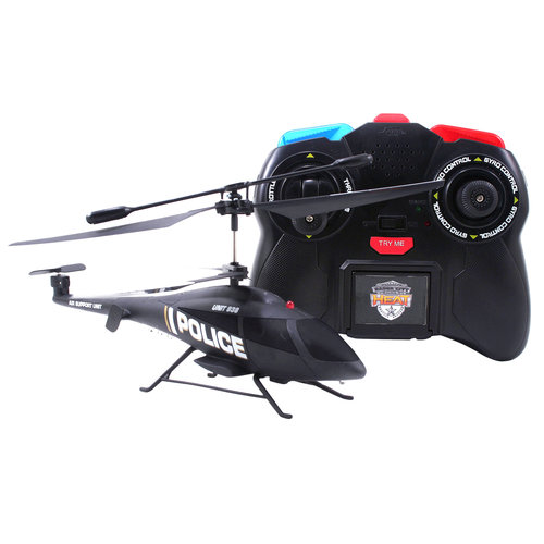Badge City Heat Air Command Helicopter