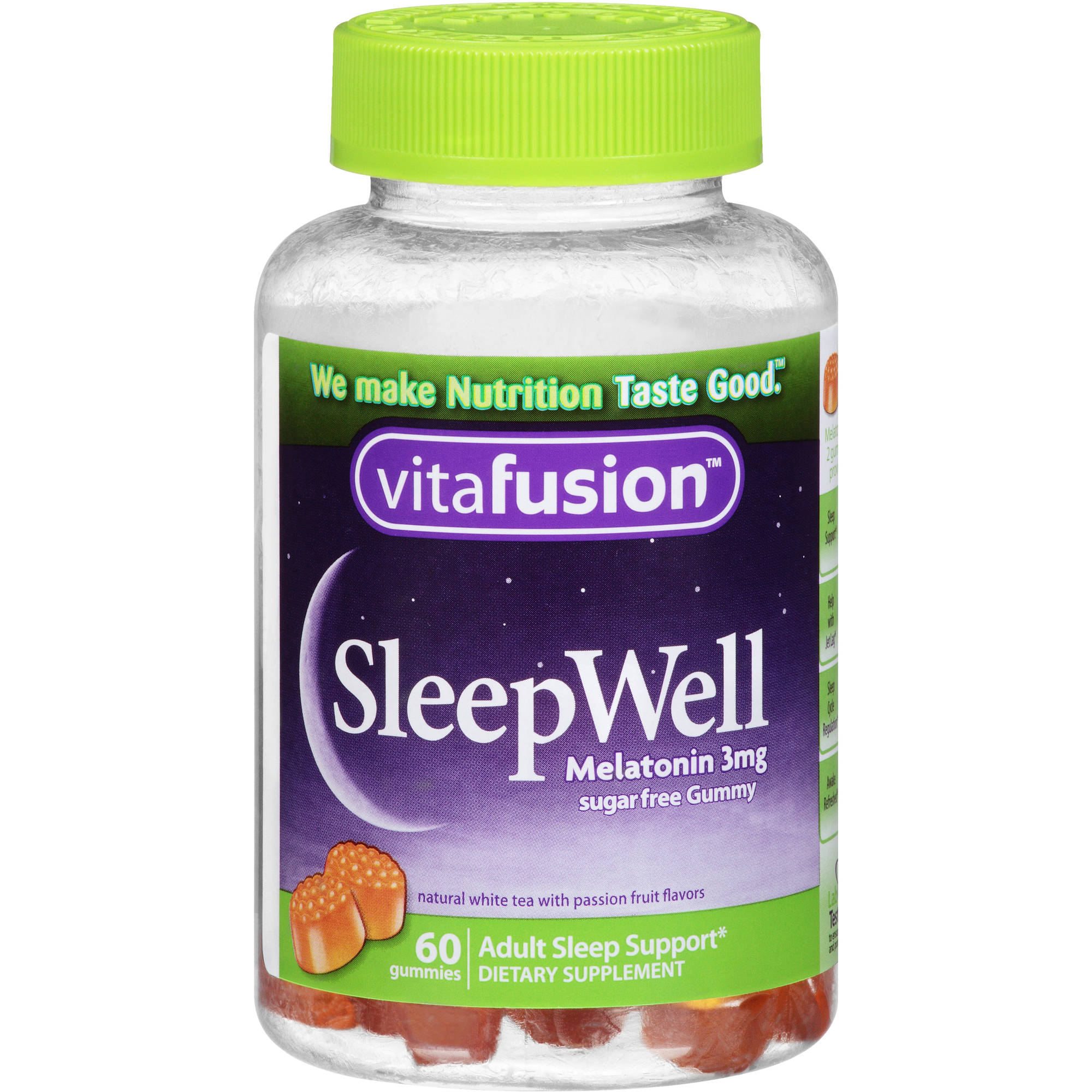 Vitafusion SleepWell Gummy Sleep Support for Adults, 60 count