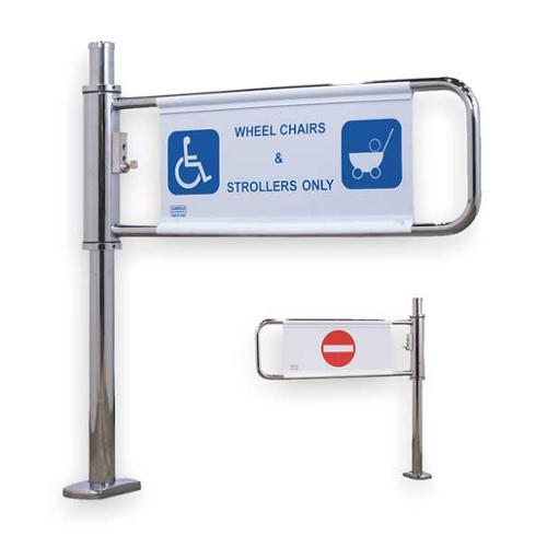 Turnstile 2031-M-EN Lockable Gate