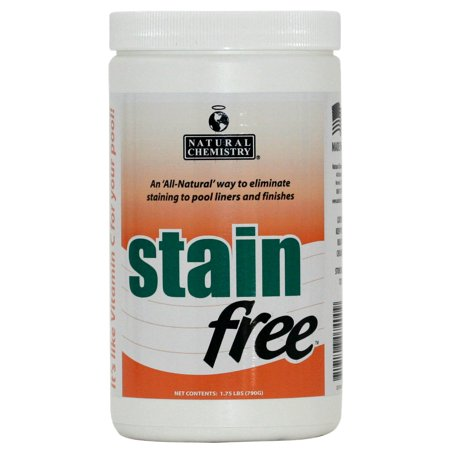 Pool Stain Remover - Natural Chemistry 07400 Swimming Pool Spa STAINfree Stain Remover - 1.75 lbs