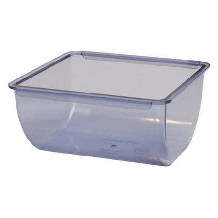 San Jamar BD106 The Dome Replacement 1 Qt Chillable Tray