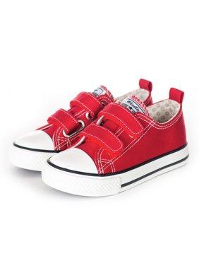 Weestep Toddler Little Kid Girl Boy Double Adjustable Straps Sneaker