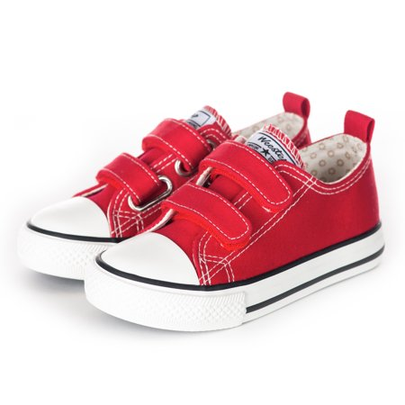 Weestep Toddler Little Kid Girl Boy Double Adjustable Straps Sneaker