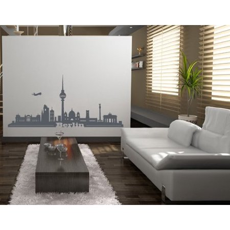 Berlin City Skyline Wall Decal Wall Sticker Vinyl Wall Art Home Decor