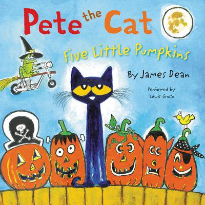 Pete the Cat: Five Little Pumpkins - Audiobook