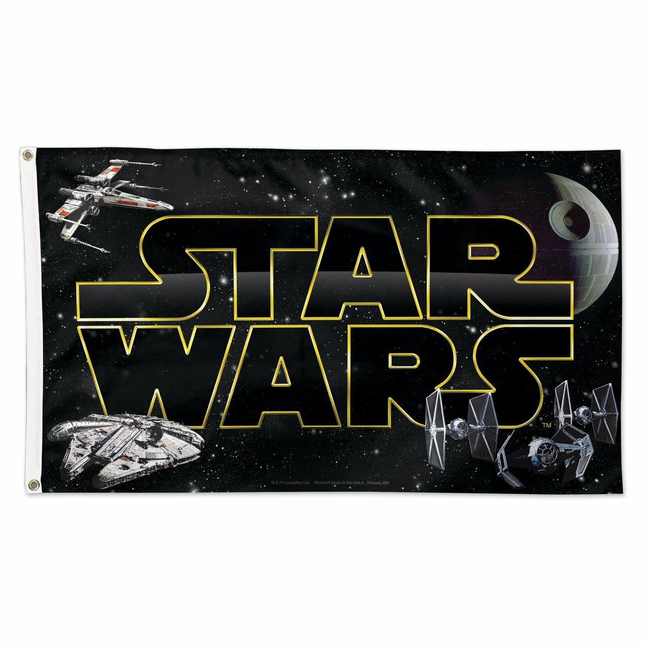 Star Wars Flag 3x5 Deluxe Banner by Wincraft 640284