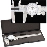 """Best Dial Calipers - 6"""" Precision Fractional Read Steel Dial Caliper Mic Review"""