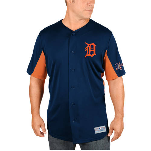MLB Detroit Tigers Miguel Cabrera Men's Short Sleeve Button Jersey