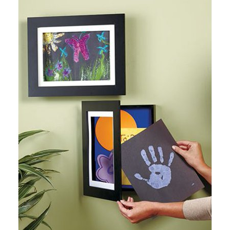 Easy Change Artwork Frame - Black - Fits 9