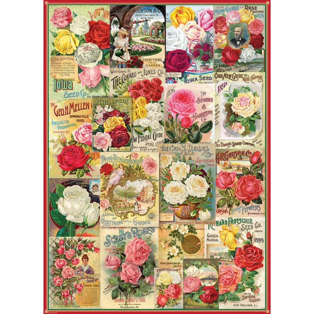 Roses Seed Catalogue 1000-Piece Puzzle by EuroGraphics