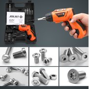 matoen 45Pcs 4.2V Electric Screwdriver Toolbox With USB Lithium Battery Charging