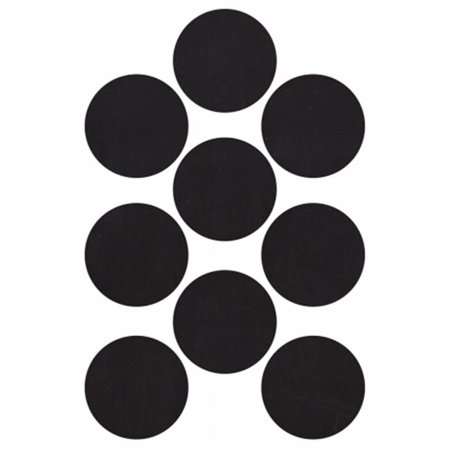 Big Chalkboard Circles - Lucky Dip Chalkboard Stickers - Circles 2 in.