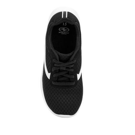 Athletic Works Mesh Athletic Sneakers (Little Boys & Big Boys)