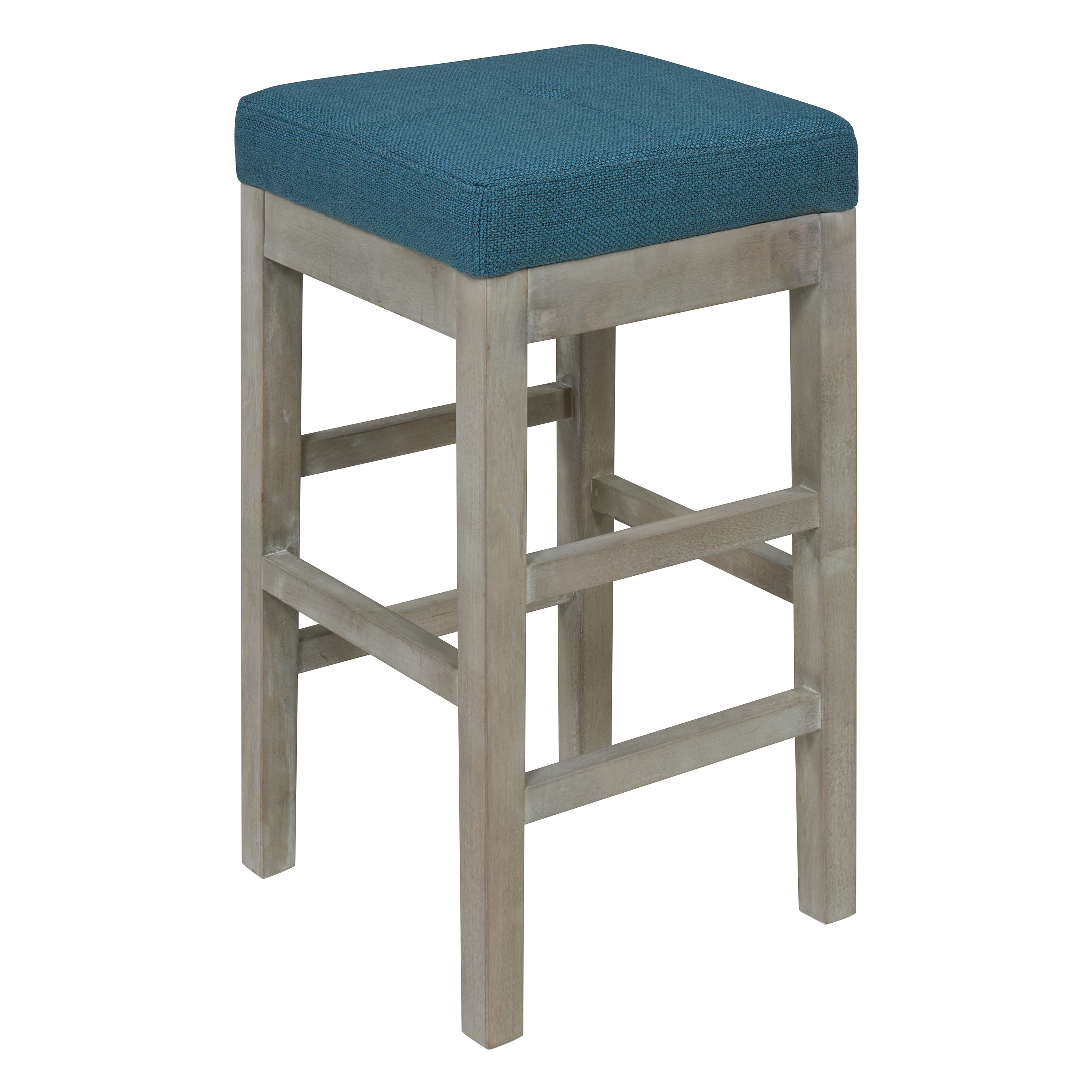 Valencia Square Backless Counter Stool Multiple Colors