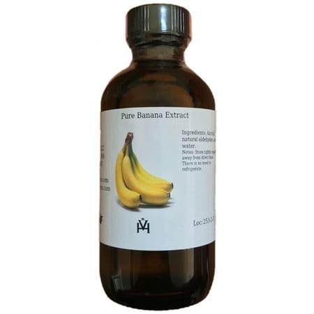 OliveNation Pure Banana Extract, 16 oz